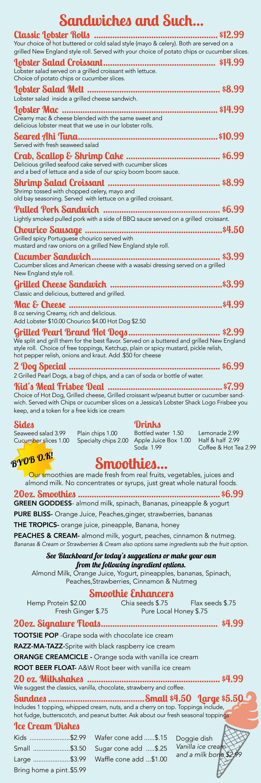 Jessicas-garden-menu
